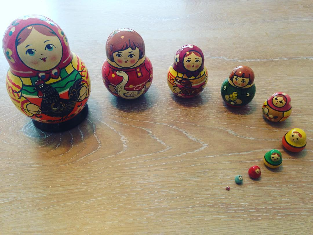 Russian stacking dolls have always been some of our guestshellip