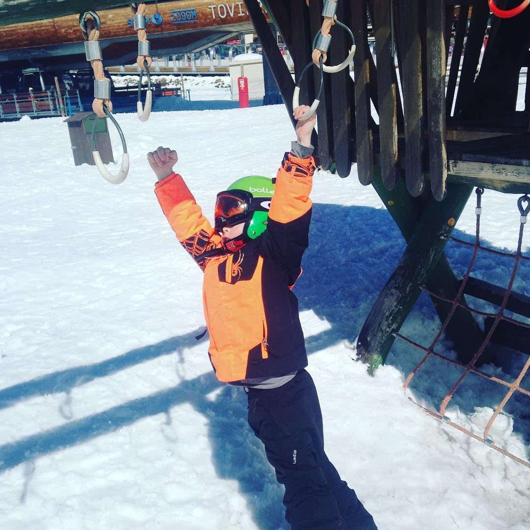 Hang tough at Tignes park last winter! 20172018 prep ishellip
