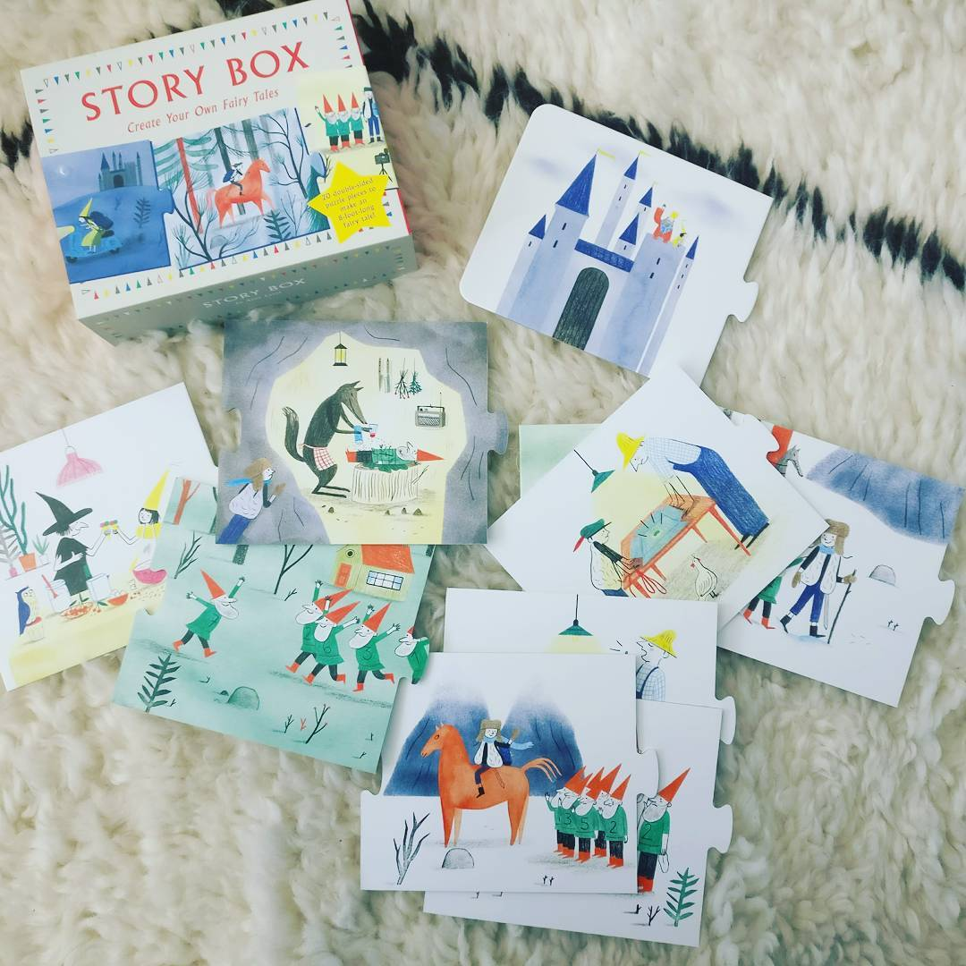 Sunday funday!! We love these story book puzzle s! Thehellip