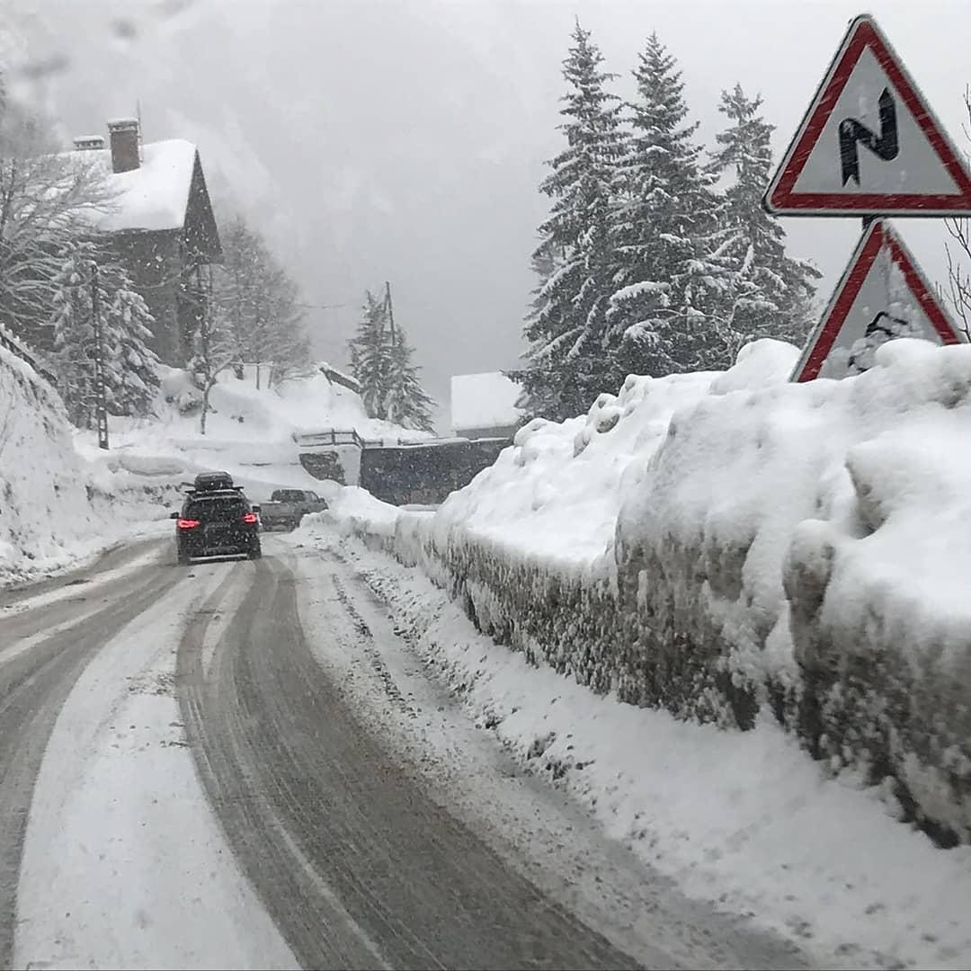 Snowy days here in Tignes     hellip
