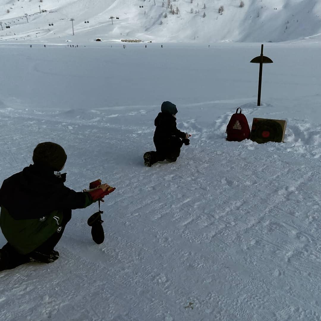 Target practice in the snow     tigneshellip