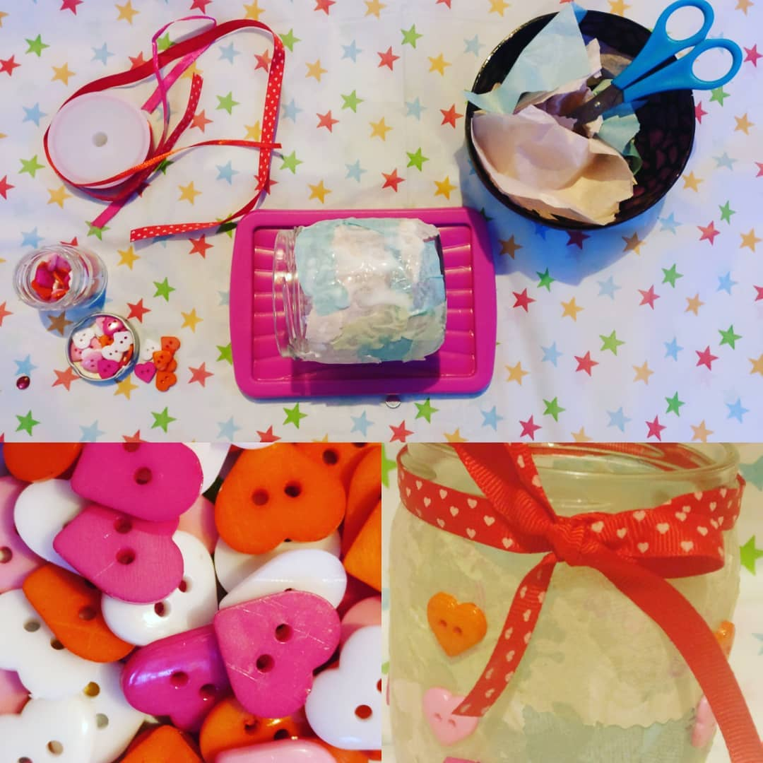 Valentines crafts our little ABSki Skamps have been working on!hellip