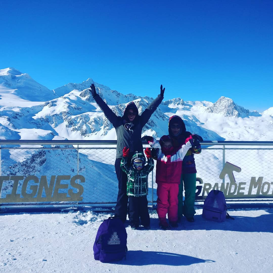 Top of the world! tignes grandemotte  tignesofficiel seetignes hellip