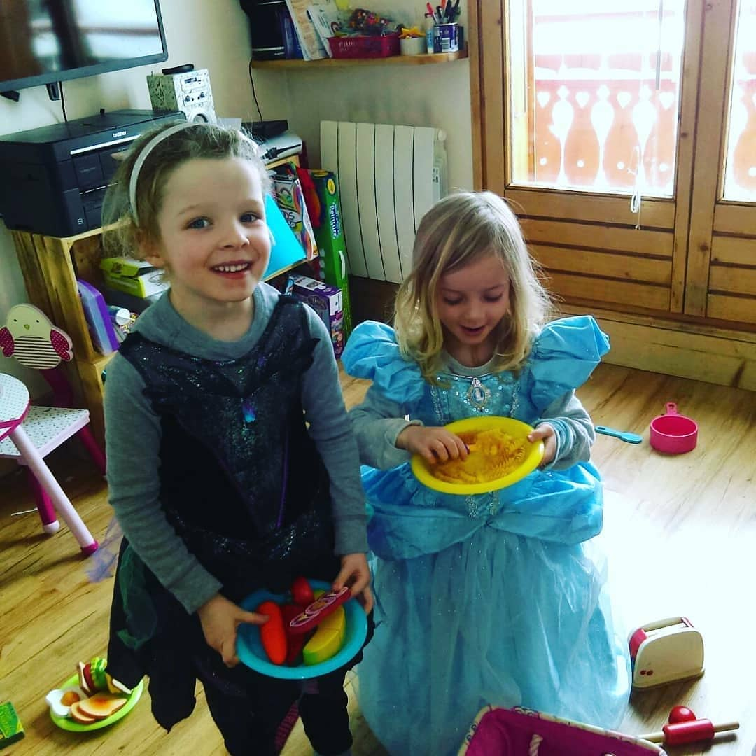 Elsa and the Good witch tea party!   hellip