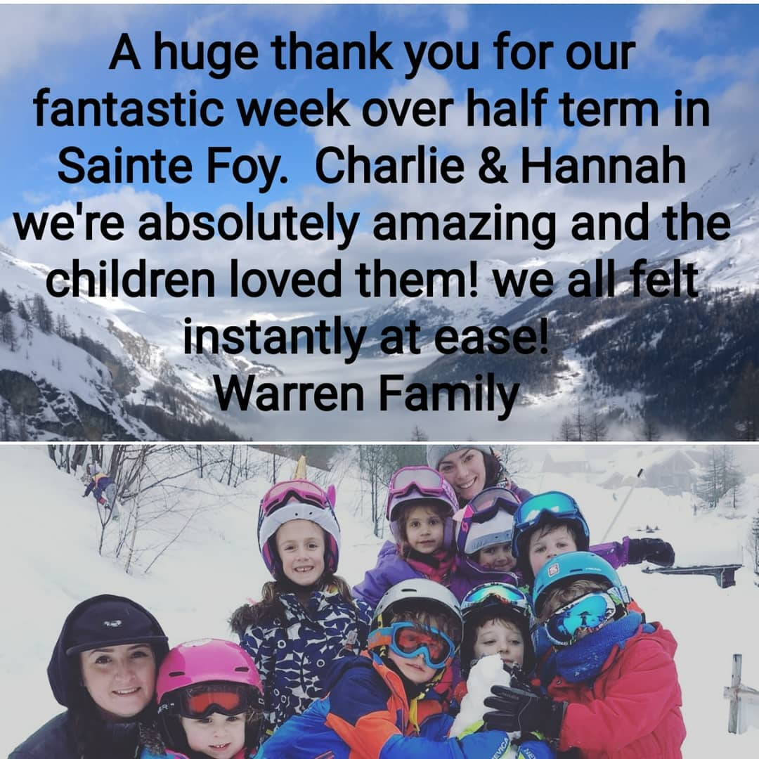 More lovely feedback from February half term! Charlie and Hannahhellip